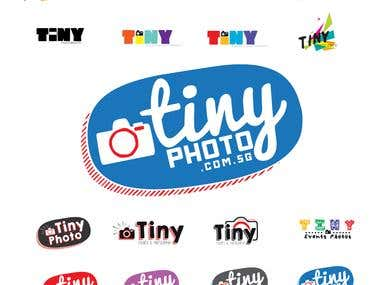 tiny photo logo