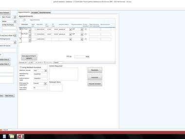 Sample Screenshots - SQL databases