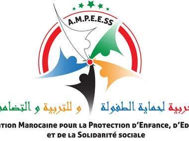 Logo pour une association marocain