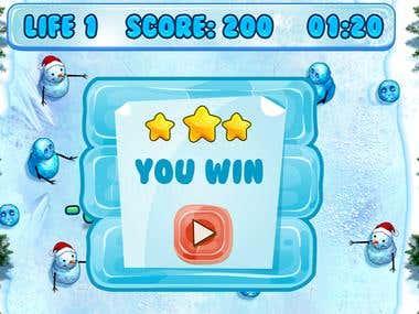 game snow ball
