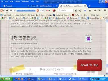 Blog Commenting backlink