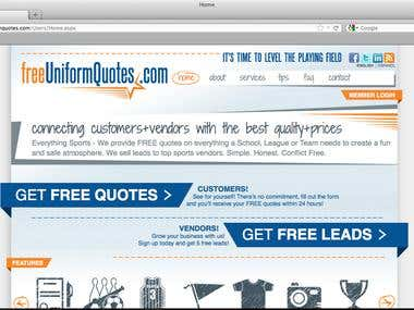 FreeUniformQuotes Web Application