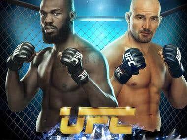UFC: Jon Jones Vs Glover Texeira.