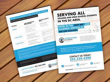 Double-Sided Flyer Design