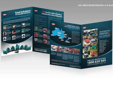 4 Page Brochure Design