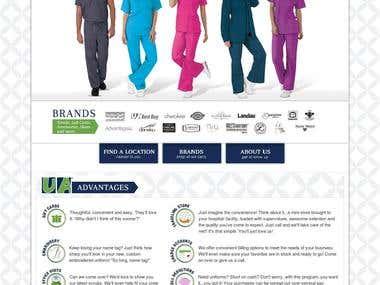 Uniform Advantage Store Locator