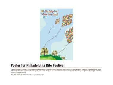 Poster for Philadelphia Kite Festival