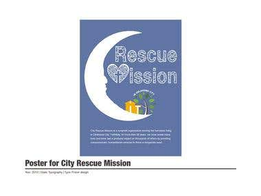 Poster for City Rescue Mission