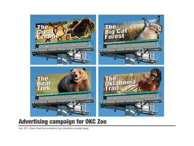 Advertising campaign for OKC Zoo