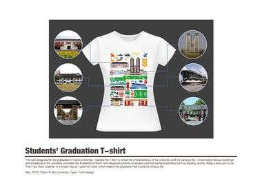 Students\' Graduation T-shirt