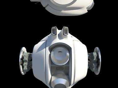Oblivion Robot Orb 3d model
