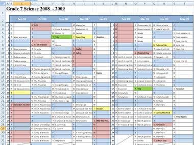 Semester Planner