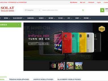 Solat Online shop