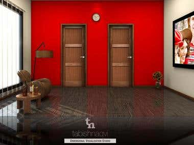 Interior Door Visualization