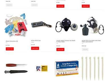 Shopify based ecommerce site