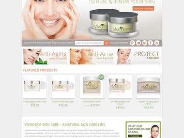 Development of woocommerce based website