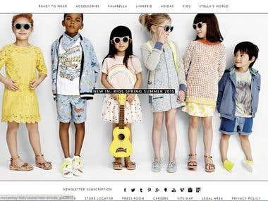 E-commerce Responsive  Website