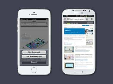 Mobile Web Browser