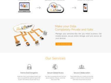 Private Locker website.
