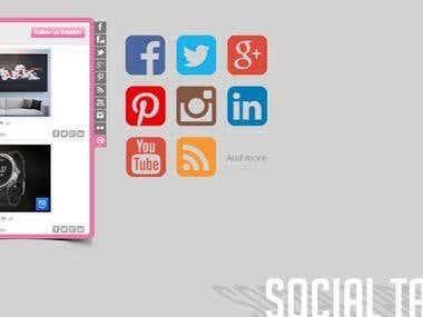 Jux Social Tab