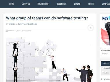 Testing Tweaks