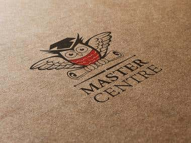 Logotype MASTER CENTER - part of Corporate identity