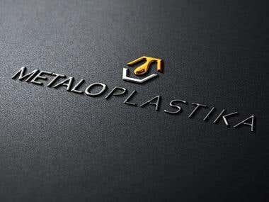 Logotype METALOPLASTIKA-part of the Corporate identity