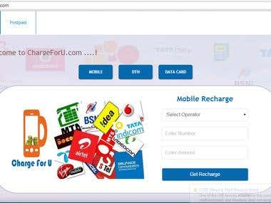 Recharge Website