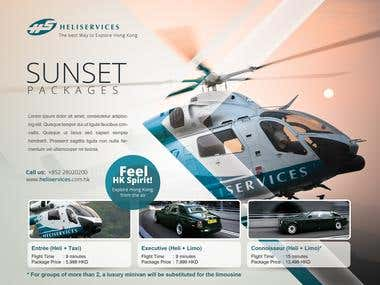 My company\'s ad flyer