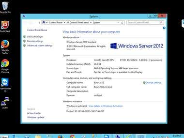 Bluehost Wordpress,Microsoft Server 2012,AWS,Hyper-V