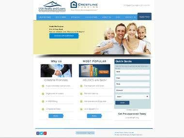 wordpress lender site