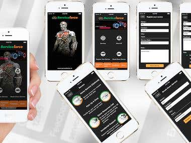 Service force app.