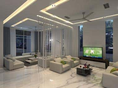 Interior photorealistic renders