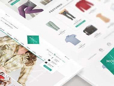 Modello - Responsive eCommerce Template