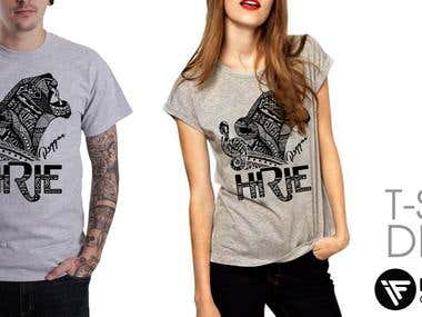 HIRIE T-Shirt Contest - Reggae/Pop Band