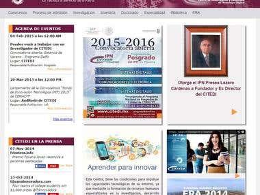 School Page http://www.citedi.mx