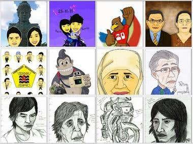 mascot, character design, sketch, storyborad