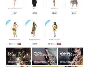 Presta Shop Online Store