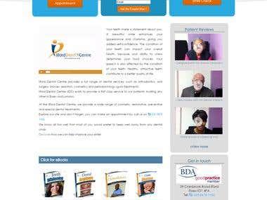 Wordpress website for Dental Practice in UK
