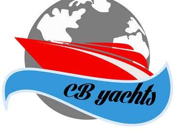 Logo for CB yachts