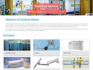 J & C Healthcare Solutions - A Bootstrap Website