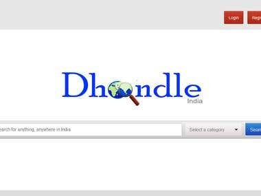Dhoondle India - Classified Website