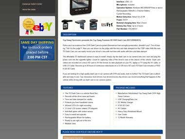 ebay Shop & Template for Top Dawg Electronics