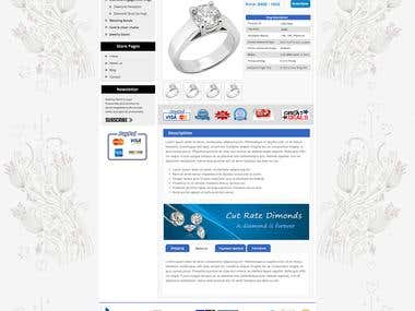 ebay Store & Template for Jewelry Sellers