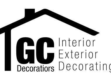 GC Decortors Logo Design