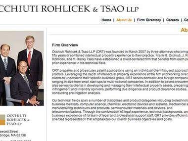 ORT Patent Law