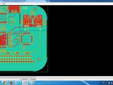 PCB SPECCTRA Viewer