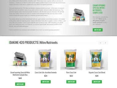 Dakine420 - Wordpress Woocommerce +Visual Composer