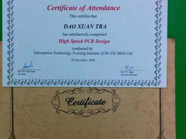 High Speed PCB Design Certificate by Cadence