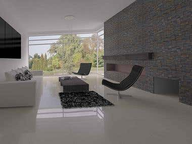 Wall interior covering